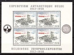 BL31*  Expédition Antarctique Belge - Bonne Valeur - MH* - LOOK!!!! - Blocs 1924-1960