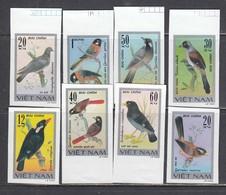 Vietnam 1978 - Birds, Mi-Nr. 948/55, Imperforated, MNH** - Vietnam