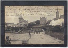 44201 . PONTCHATEAU . LE TUNNEL . PASSAGE DU TRAIN . 1905 . ANIMATION - Pontchâteau