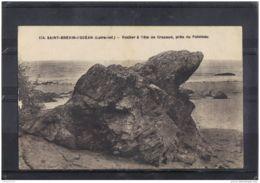 44207 . SAINT BREVIN L OCEAN . ROCHER A TETE DE CRAPAUD PRES DU  POINTEAU - Saint-Brevin-l'Océan