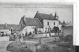 SAINT BAULD   N 7 CLOCHER DE L EGLISE 11 SIECLE RUE PRINCIPALE SUD OUEST MACHINE AGRICOLE  CHARRUE PERSONNAGES   DEPT 37 - Autres Communes