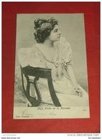 Mademoiselle  FRICHE  Du Théâtre De La Monnaie     - 1903  - - Artistes