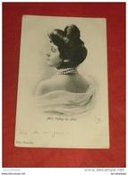 Mademoiselle   VOLTRY  Du Théâtre Du Parc - 1903  - - Artistes