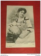 Mademoiselle STRASSY  Du Théâtre De La Monnaie  - 1903  - - Artistes
