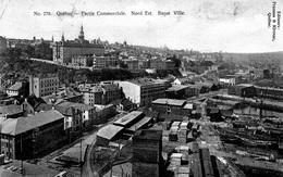 Partie Commerciale - Nord Est - Basse Ville - Québec - La Cité