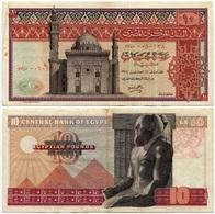 Egypt - 10 Pounds - 1974 - Aegypten