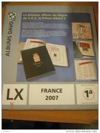 SUPPLEMENT DAVO FRANCE 2007 LX 1a . - Album & Raccoglitori