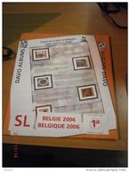 SUPPLEMENT DAVO BELGIQUE 2006 SL 1a. - Album & Raccoglitori