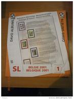 SUPPLEMENT DAVO BELGIQUE 2001 SL 1. - Album & Raccoglitori