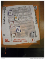 SUPPLEMENT DAVO BELGIQUE 1999 SL 1. - Album & Raccoglitori
