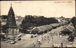 Cp Gya Indien, Street View, Straßenpartie - Indien