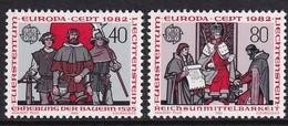 Liechtenstein 1982, Complete Set MNH - Neufs
