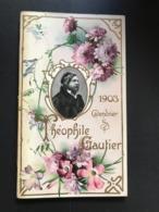 Calendrier 1903 Art Nouveau – Texte Théophile Gautier – 12 Pages – Chromolitho Raphaël Tuck - Calendriers