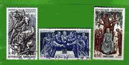 France °- 1967 -  Yvert. 1537-1538-1539.   Oblitéré. - Gebraucht