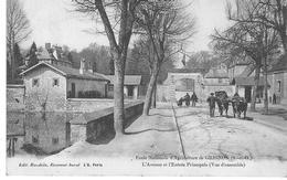 Ecole Nationale D'Agriculture De GRIGNON - L'Avenue Et L'Entrée Principale (vue D'ensemble) - Grignon