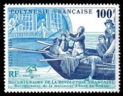 POLYNESIE 1989 - Yv. 336 **   Faciale= 0,84 EUR - Révolution Française. Bateau 'Bounty'  ..Réf.POL25040 - Polinesia Francese