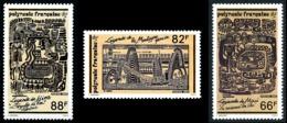 POLYNESIE 1989 - Yv. 347 348 Et 349 **   Faciale= 1,98 EUR - Légendes Polynésiennes (3 Val.)  ..Réf.POL25043 - Polinesia Francese
