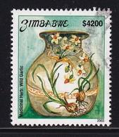 Zimbabwe 2003, Minr 772 Vfu. Cv 4 Euro - Zimbabwe (1980-...)