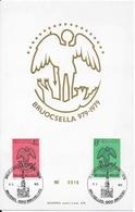 COB 1925/26 Avec Cachet 1er Jour Bruxelles - FDC