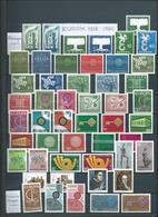 EUROPE / Europa : Collection Thème Europa Neuve ** Sur 16 Pages. Cote 2150 € - Timbres