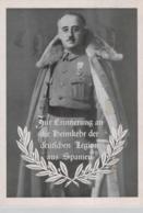 D.Reich Propaganda Karte-Legion Condor   ....   (ko3559  ) Siehe Scan - Germany