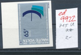 Obervolta   Nr.  715  B    **. ....  (ed9922  ) Siehe Scan - Upper Volta (1958-1984)