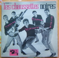 45 Tours LES CHAUSSETTES NOIRES - BARCLAY 70369 - Rock