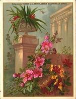 2 Chromos Chocolat Aiguebelle - Notice Monastere Des Peres Trappistes D Aiguebelle - Drome - 10,5x13,6 - Bill-923 - Aiguebelle
