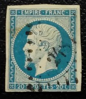 210- 14 A-  PC 2484 Poligny Jura 38 - 1853-1860 Napoleon III