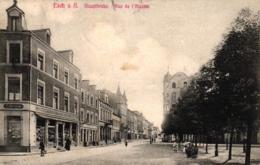 Esch S. A., Alzettstraße, Rue De `l`Alzette, 1909 - Esch-Alzette