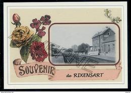 RIXENSART  ..   2  Cartes Gare + Train.. Souvenirs  Creations Modernes Série Limité - Rixensart