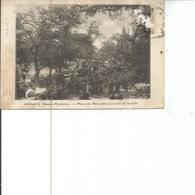 64-ARZACQ UN JOUR DE MARCHE - Andere Gemeenten