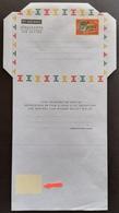 Ghana Air Letter White Inverted POSTAGE FEE EXTRA - Ghana (1957-...)