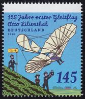 3254 Otto Lilienthal Aus Rolle Mit GERADER Nummer ** - 1. Auflage! - Rollenmarken