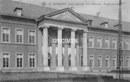 SBP 22 Institut Agricole Cour D'Honneur Façade Principale  Gembloux - Gembloux