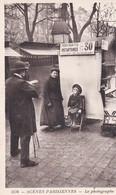 """Scènes Parisiennes. LE PHOTOGRAPHE  """"Portraits Instantanés 30 Cts"""" - Métiers"""