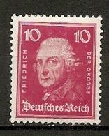 DR - Yv. N°  382 Mi:  390  *  10p  Frederic Le Grand   Cote  1,4 Euro BE  2 Scans - Deutschland