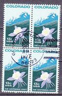 H2710 - ETATS UNIS USA Yv N°1158 BLOC - Used Stamps