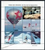 "Spain - Espagne 2005 Yvert 3785-90, ""Al Filo De Lo Imposible"" TV Series For Young People - Miniature Sheet - MNH - 2001-10 Ungebraucht"