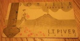 Salon De Coiffure Pour Dames SOLANGE 24 Place Guy Mocquet BEAUMONT SUR OISE - Carte Parfumée POMPEIA L.T. PIVER - Droguerie & Parfumerie