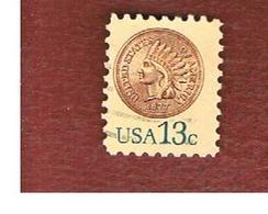 STATI UNITI (U.S.A.) - SG 1708  -  1978  INDIAN HEAD PENNY, 1877  - USED - United States