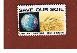 STATI UNITI (U.S.A.) - SG 1406    - 1970   POLLUTION PREVENTION     - USED - Stati Uniti