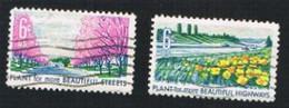 STATI UNITI (U.S.A.) - SG 1352.1355  - 1969 PLANTS FOR MORE BEAUTIFUL AMERICA   - USED° - Stati Uniti