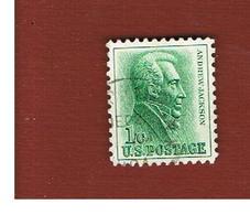 STATI UNITI (U.S.A.) - SG 1206 - 1963  A. JACKSON  -  USED° - Stati Uniti