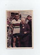 CYCLISME   Tour De France  PHOTO ORIGINALE D'EPOQUE DE LOUISON BOBET EN CHAMPION DU MONDE  7 X 10 - Wielrennen