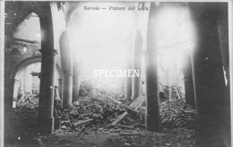 Fotokaart Puinen Der Kerk  Binnenzicht - Nevele - Nevele