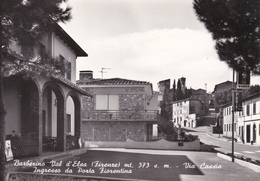 BARBERINO VAL D'ELSA - FIRENZE - VIA CASSIA - INGRESSO DA PORTA FIORENTINA - INSEGNA PUBBLICITARIA BIRRA WUHRER - Firenze (Florence)
