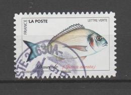 "FRANCE / 2019 / Y&T N° AA 1687 : ""Poissons De Mer"" (Daurade) - Oblitération 2019 09. SUPERBE ! - Frankreich"