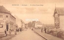 Herseaux - Estaimpuis - Frontières Belge - Estaimpuis
