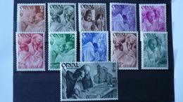 COB 556/567*  - 1941 – Neuf Avec  Trace De Charnière – Quatrième Orval -  Série Dite  « Les Moines - Neufs
